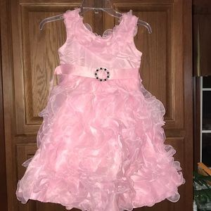 Beautiful Girls Frilly Dress Pageant Wedding NEW